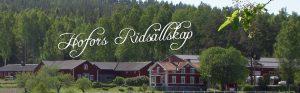 Hofors Ridsällskap dressyr/hoppkurs 16-18 oktober 2020